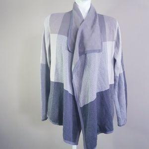 Kismet | waterfall neckline poncho cardigan